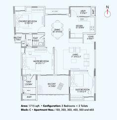 Vaswani Reserve Floor Plan  www.bangalore5.com