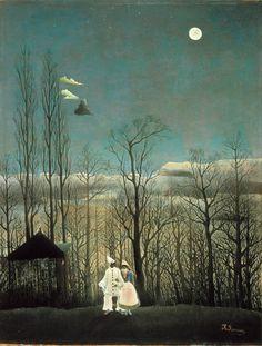 Henri Rousseau- a carnival evening