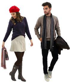 cf7ac6b235e Como se vestir no frio ameno - Frio Ameno  como se vestir no inverno acima