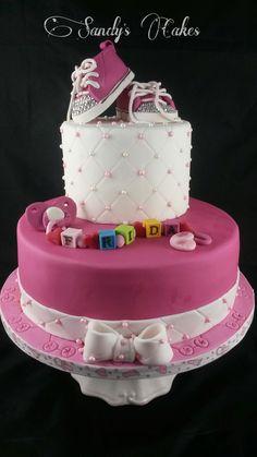 Tauftorte Mädchen Girl Christening Cake
