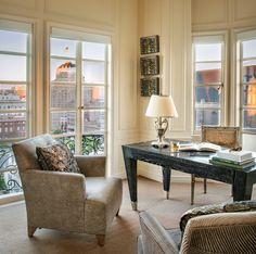 Study — Candace Barnes San Francisco Design, Dining Bench, Study, Room, Furniture, Home Decor, Bedroom, Studio, Decoration Home