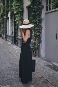 black maxi skirt  #summer #vibes #currentlycoveting