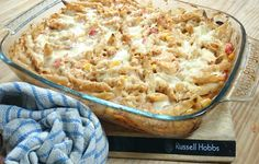 My Slimming World Chicken, Chorizo and Sweetcorn Pasta Bake Recipe 2.5 Syns Per Person - SERVES 4