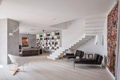 Diseño de Interiores & Arquitectura: Casa G En Bucarest, Celebrando La Relajación Y La Interacción Social