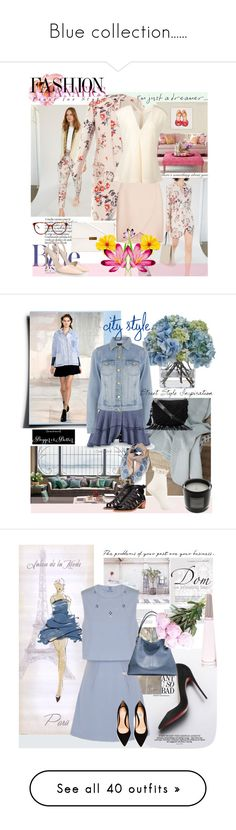 """""""Blue collection......"""" by anny951 ❤ liked on Polyvore featuring STELLA McCARTNEY, Diane James, Warehouse, Millefiori, Loeffler Randall, Debenhams, UGG Australia, Humble Chic, Lavish Alice and Coach"""