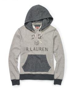 Fleece Graphic Hoodie - Denim & Supply  Sweatshirts - RalphLauren.com