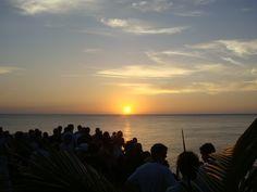 Jamaica, Sunset @ Ricks Café, Abril 2010