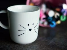 Mug chat * DIY *