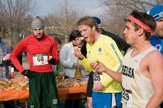 Fool's Twinkie Run 5K: April 1, 2015 (no joke!). Started in 2010 as fundraiser for Ann Arbor Active Against ALS.  (Optional) Twinkie-eating at the start and after mile 1.5 gives great laughs and photo opportunities! You can also join the homemade Twinkie contest.