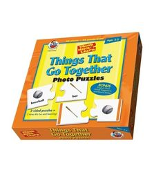 Things That Go Together Puzzle - Carson Dellosa Publishing Education Supplies