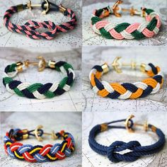 Knot Anchor Bracelets