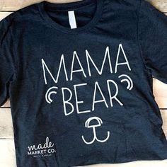 Mama Bear Dark Tee