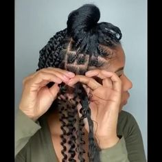 Braids Hairstyles Pictures, Faux Locs Hairstyles, Protective Hairstyles For Natural Hair, Black Girl Braided Hairstyles, Natural Hair Braids, Twist Braid Hairstyles, African Braids Hairstyles, Braids For Black Hair, Natural Hair Styles