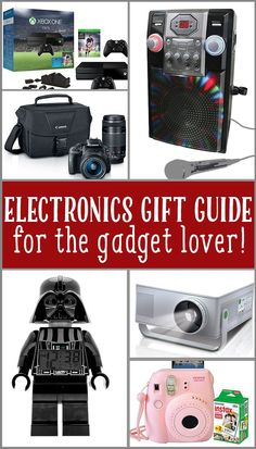 Holiday gift guide for the electronic gadget lover! Electronic Gadgets For Men, Electronic Gift Cards, New Gadgets, Electronics Gadgets, Electronics Accessories, Holiday Gift Guide, Holiday Gifts, Christmas Holiday, Gift Card Giveaway