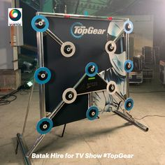 Batak Hire for a popular TV show complete with branding. The #BatakHire has a full backdrop featuring a bespoke design, it also has branded button surrounds to finish the #BatakBranding with a perfect finish.   The Batak game for Hire was used for a Batak Challenge for the presenters of the show to see how high they could score in the 30 second Batak Game.  Batak Hire is great for #BrandActivations, #TradeStands #Exhibitions & more. There are 50 different game options available.   #Batak