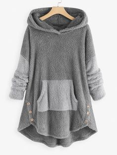 Ladies Sherpa Fleece Warm Winter Pyjamas Pyjama PJ Set Ears Grey//Pink Size 8-22