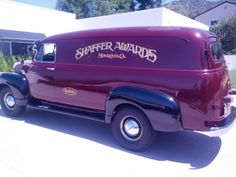 1952 Chevrolet 1 Ton Panel Delivery...Brought to you by #houseofinsurance in #EugeneOregon
