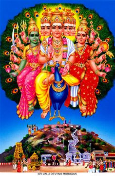 Sri Valli Devyani Murugan