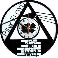 Reloj De Pared En Disco De Acetato,o Lp Pink Floyd