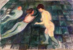 TRANSISTORADIO. Edvard Munch, Bathing Women