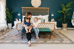 Click to tour the home of Alexandra Evjen, which beautifully blends tradition and trends! Her elegant, yet easy-going, design ideas this way.