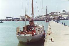 Galebound at Ramsgate Springboard, Small Boats, New Adventures, Sailing Ships, Star, Stars, Sailboat, Tall Ships