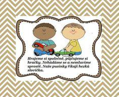 Pravidla Preschool Decor, Classroom