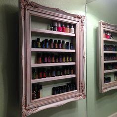Frame Shelf For Essential Oils