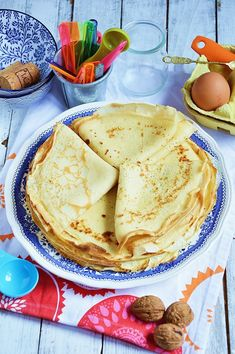 Moja smaczna kuchnia: Obiady na 7 dni Pancakes, Breakfast, Ethnic Recipes, Food, Polish Food Recipes, Morning Coffee, Essen, Pancake, Meals