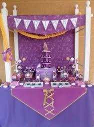 Resultado de imagen para centros de mesa rapunzel