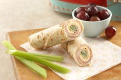 Cheesy Tortilla Roll-Up Snack