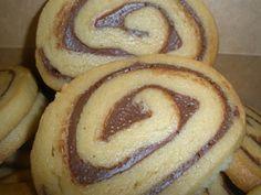 Espirales de galleta y nutella