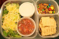 Taco salad #EasyLunchbox
