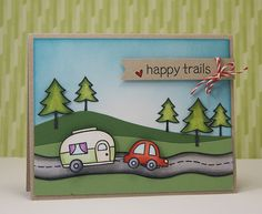 happyTrails- Yainea's scene is so sweet! I love how she colored in the road!