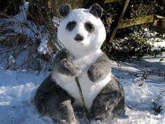 panda snowman