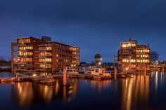 Harbor Almelo by Mark Vredeveld on 500px