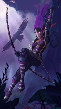 Trishina Ravenspyre by sofus111