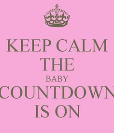 14 weeks to go until Baby Hughes is here :-D