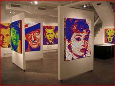 Rubik's cube art gallery
