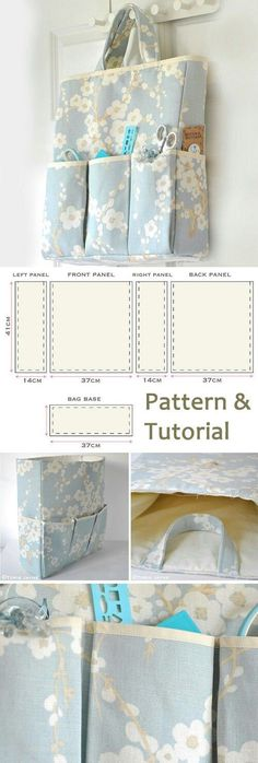 How-to step by step www.free-tutorial The post Organizer Bag Sewing Tutorial 2019 appeared first on Bag Diy. Sewing Hacks, Sewing Tutorials, Sewing Crafts, Sewing Projects, Sewing Ideas, Drawstring Bag Tutorials, Easy Sewing Patterns, Quilted Bag, Fabric Bags