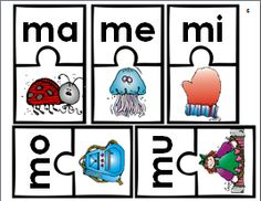 Sílabas con m: ma, me, mi, mo, mu.  This is a bundle of activities to practice and reinforce the Spanish syllables ma, me, mi, mo, mu. They include mostly 'hands-on activities' that can be used to supplement any Spanish reading program.They are great for the dual language or bilingual classroom to use in small groups, centers, or literacy stations.