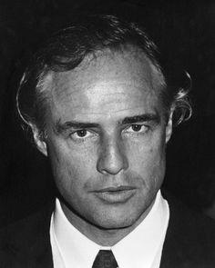 Marlon Brando fotografiado por Ron Galella, 1978