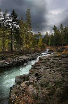 Upper Rogue River in Southern Oregon