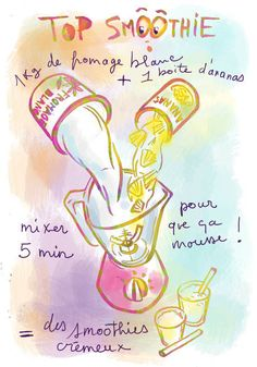 Smoothie ananas - Tambouille.fr