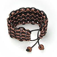 Rollo Chain Bracelet from Primitive Earth Beads - includes video tutorial #jewelry #DIY #crafts jewelry-tutorials
