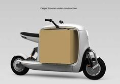 Cargo Scooter by Lit Motors, Inc.