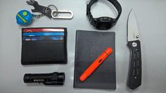 Its Friday!  submitted by Syafiq  Tupperware Mini Pillbox  Gerber Shard  Generic Titanium Carabiner  Casio Men's G-Shock Watch DW5600EG-9  Cross Leather Card Wallet  Muji A5 Notebook  Lamy Pico Laser Orange 2016 Special Edition Ball Point Pen  Olight S1A Baton  Kershaw 3820 Injection 3.0 Folding Knife  featuring my yesterday received Kershaw Injection 3.0