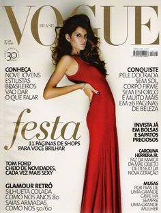 Izabel Goulart by Gui Paganini Vogue Brazil December 2005