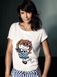 """Coin -  Coin continua il suo impegno nel sociale con le nuove t-shirt """"Hello Kitty for Oxfam Italia""""!"""