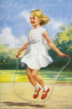 Skipping rope - Play With Us, Peter And Jane o ja dat deed ik ook nu je het niet meer. wel jammer.